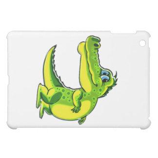 Flirting Crocodile iPad Mini Covers