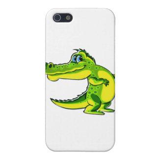 Flirting Crocodile iPhone 5 Covers
