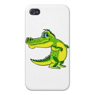 Flirting Crocodile Case For iPhone 4