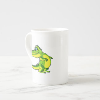 Flirting Crocodile Tea Cup