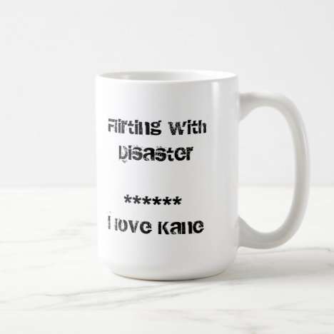 Flirting with Kane Coffee Mug