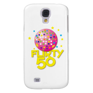 FLIRTY 50 fifty birthday gift present Galaxy S4 Case