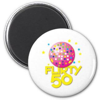 FLIRTY 50 fifty birthday gift present Magnet
