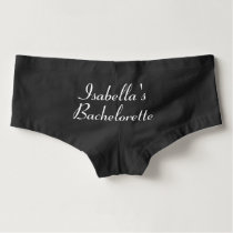 Flirty Bachelorette Boyshorts