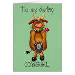 Flirty Cow Greeting Cards