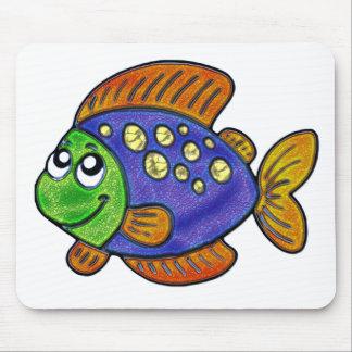 Flirty Fish Mouse Pad
