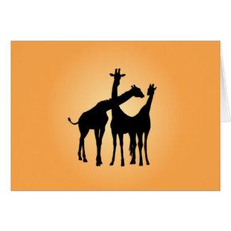 Flirty Giraffe Card
