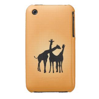 Flirty Giraffe iPhone 3 Covers