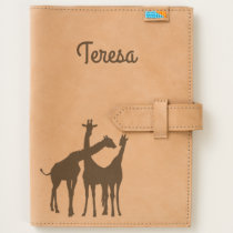 Flirty Giraffe Personalized Journal