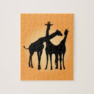 Flirty Giraffe Puzzle