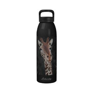 Flirty Giraffe Water Bottle