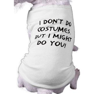 Flirty Halloween Doggie T Shirt