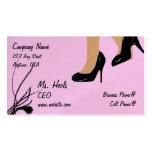 Flirty Heels Business Card