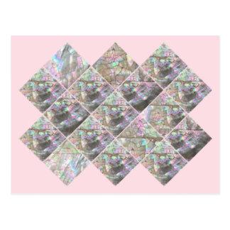 Flirty Pink Shell Postcard