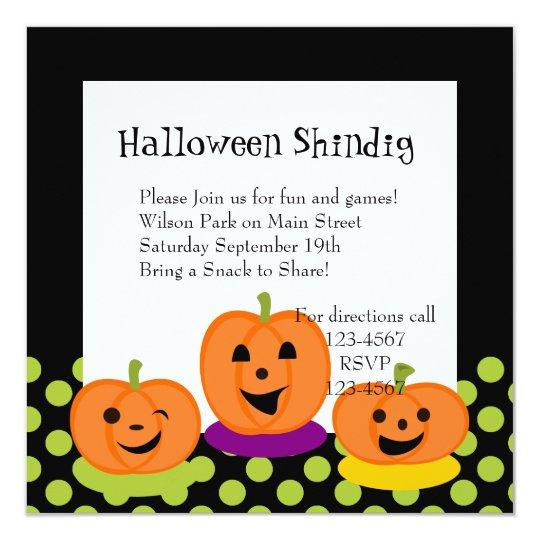 Flirty Pumpkins Card