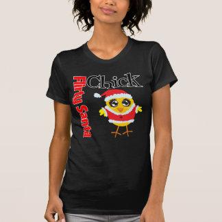 Flirty Santa Chick Shirt