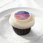 flirty sky edible frosting rounds