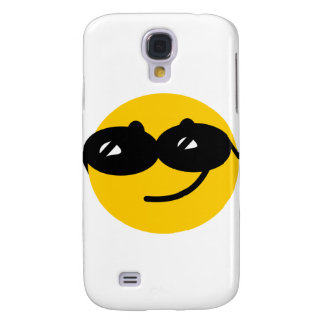 Flirty sunglasses smiley face galaxy s4 cover