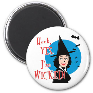 Flirty Wicked Witch Magnet
