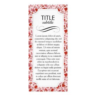 Flittering Florals Custom Rack Card