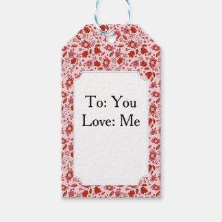 Flittering Florals Gift Tags