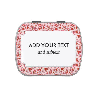Flittering Florals Jelly Belly Tin