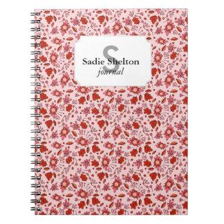 Flittering Florals Notebook