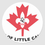 Flittle Canadá, Minnesota, Estados Unidos señala p Pegatina Redonda