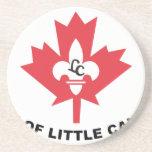 Flittle Canadá, Minnesota, Estados Unidos señala p Posavasos Para Bebidas