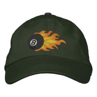 Flming 8-ball cap