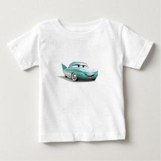 Flo Disney de los coches Playera Para Bebé