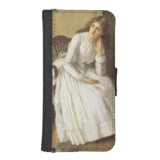 Flo Dombey in Captain Cuttle's Parlour iPhone SE/5/5s Wallet Case
