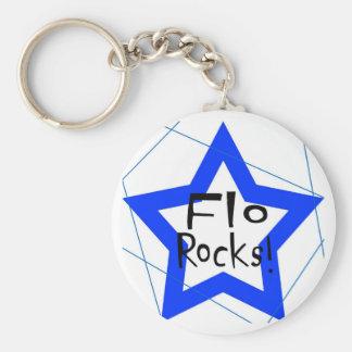 Flo Rocks key chain
