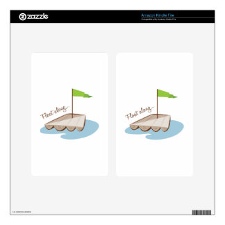 Float Along Decals For Kindle Fire