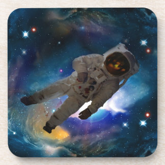 Float in space traveller NASA Beverage Coaster