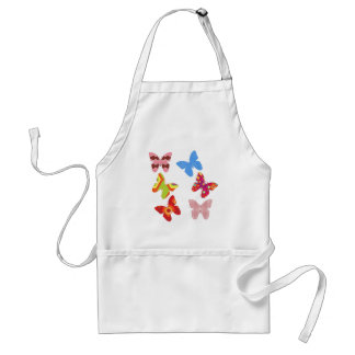Float Like a Butterfly Adult Apron