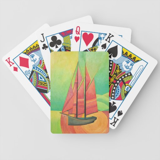 Float My Boat Bicycle Playing Cards
