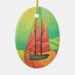 Float My Boat Christmas Tree Ornament