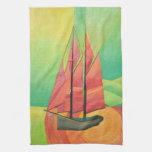 Float My Boat Kitchen Towel