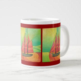 Float My Boat Large Coffee Mug