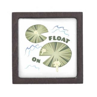 Float On Jewelry Box