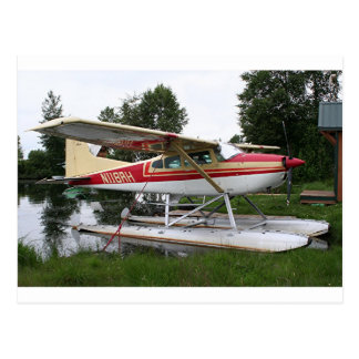 Float plane 3, Lake Hood, Anchorage, Alaska, USA Postcard