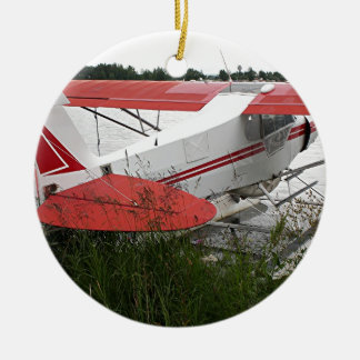 Float plane 9, Lake Hood, Anchorage, Alaska, USA Ceramic Ornament