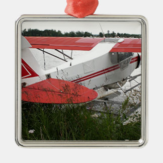 Float plane 9, Lake Hood, Anchorage, Alaska, USA Metal Ornament