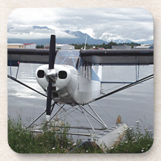 Float plane Lake Hood 21 Coaster