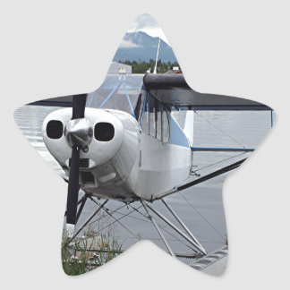 Float plane Lake Hood 21 Star Sticker