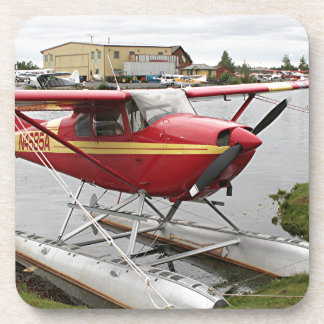 Float Plane Lake Hood  22 Beverage Coaster