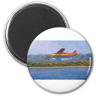 float plane fridge magnets