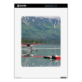 Float plane, Trail Lake, Alaska Decal For The iPad