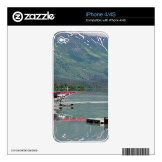 Float plane, Trail Lake, Alaska iPhone 4S Decals